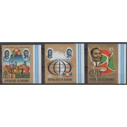 Burundi - 1972 - Nb PA249/PA251ND - Various Historics Themes