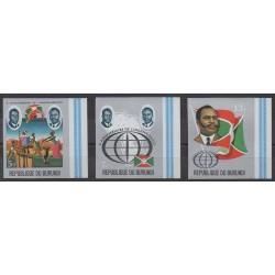 Burundi - 1972 - Nb 508/510ND - Various Historics Themes