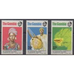 Gambia - 1972 - Nb 268/270