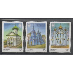 Belarus - 2000- Nb 326/328 - Churches