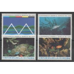 Venezuela - 1974- No 927/930 - Vie marine