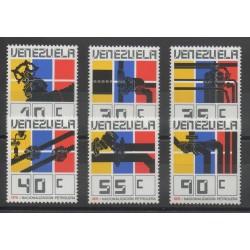 Venezuela - 1976- No 998/1003 - Sciences et techniques