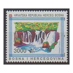 Bosnia and Herzegovina Herceg-Bosna - 1993 - Nb 1H - Sights