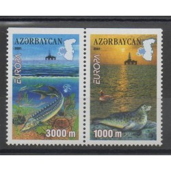 Azerbaijan - 2001- Nb 417a/418a - Animals