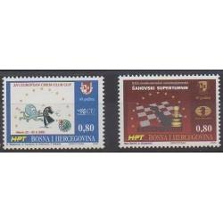 Bosnia and Herzegovina Herceg-Bosna - 2000 - Nb 46/47 - Chess