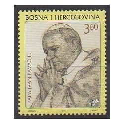 Bosnia and Herzegovina Herceg-Bosna - 1997 - Nb 24 - Pope