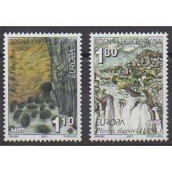 Bosnia and Herzegovina Herceg-Bosna - 2001 - Nb 51/52 - Environment - Europa