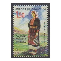 Bosnia and Herzegovina Herceg-Bosna - 2005 - Nb 120 - Costumes - Uniforms - Fashion