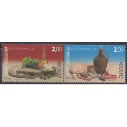 Bosnie-Herzégovine Herceg-Bosna - 2005 - No 132/133 - Gastronomie - Europa