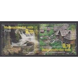 Bosnia and Herzegovina Herceg-Bosna - 2009 - Nb 225/226 - Environment
