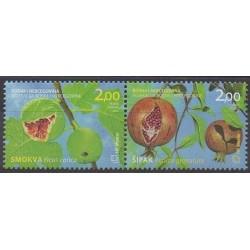 Bosnie-Herzégovine Herceg-Bosna - 2011 - No 299/300 - Fruits ou légumes