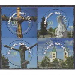 Bosnia and Herzegovina Herceg-Bosna - 2011 - Nb 285/288 - Religion