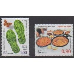 Bosnia and Herzegovina Herceg-Bosna - 2015 - Nb 381/382 - Gastronomy