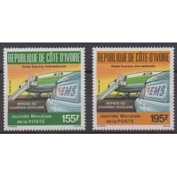 Côte d'Ivoire - 1987 - No 795/796 - Service postal