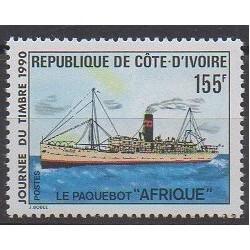Côte d'Ivoire - 1990 - No 939 - Philatélie - Navigation