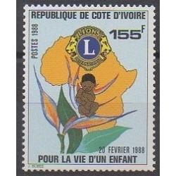 Côte d'Ivoire - 1988 - No 799 - Rotary ou Lions club