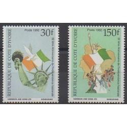 Côte d'Ivoire - 1992 - No 900D/900E - Histoire