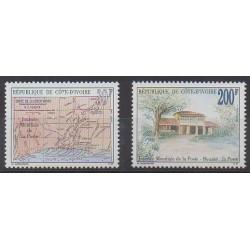 Côte d'Ivoire - 1993 - No 917/918 - Service postal