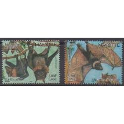 Mayotte - 2001 - Nb 104/105 - Mamals