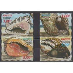 Mayotte - 2000 - No 92/95 - Vie marine