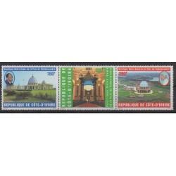 Côte d'Ivoire - 1997 - No 980/982 - Églises
