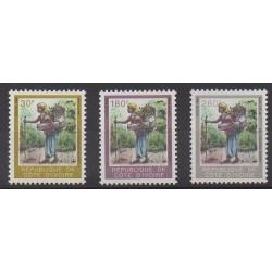 Côte d'Ivoire - 1995 - No 940/942