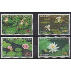Côte d'Ivoire - 1997 - No 976/979 - Fleurs