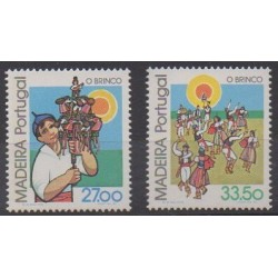 Portugal (Madeira) - 1982 - Nb 87/88 - Music - Folklore