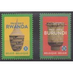 Belgium - 2012 - Nb 4221/4222 - Various Historics Themes