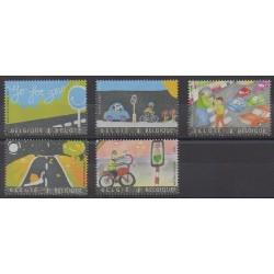 Belgium - 2013 - Nb 4287/4291 - Children's drawings