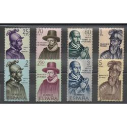 Espagne - 1964- No 1286/1293 - Célébrités