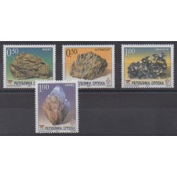 Bosnia and Herzegovina Serbian Republic - 2004 - Nb 288/291 - Minerals - Gems