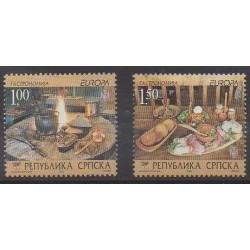 Bosnie-Herzégovine République Serbe - 2005 - No 304/305 - Gastronomie - Europa