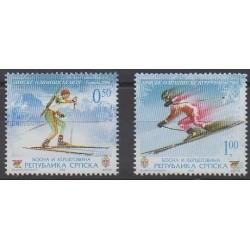 Bosnia and Herzegovina Serbian Republic - 2006 - Nb 334/335 - Winter Olympics