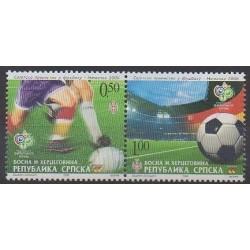 Bosnia and Herzegovina Serbian Republic - 2006 - Nb 348/349 - Soccer World Cup