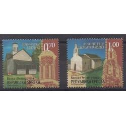 Bosnia and Herzegovina Serbian Republic - 2007 - Nb 377/378 - Churches