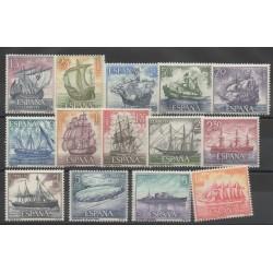 Espagne - 1964- No 1257/1270 - Bateaux