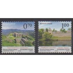 Bosnia and Herzegovina Serbian Republic - 2009 - Nb 441/442 - Sights