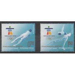 Bosnia and Herzegovina Serbian Republic - 2010 - Nb 456/457 - Winter Olympics