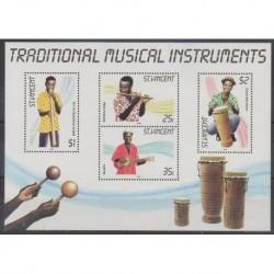 Saint Vincent - 1985 - Nb BF17 - Music