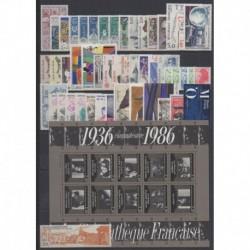 France - 1986 - Nb 2393/2451 - BF9