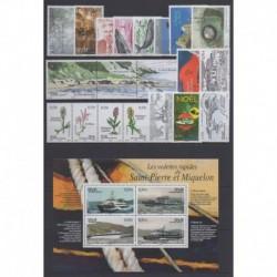 Saint-Pierre et Miquelon - Complete year - 2006 - Nb 860/881 - BF11 - PA86