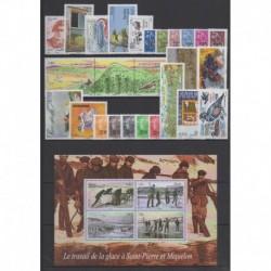 Saint-Pierre et Miquelon - Complete year - 2008 - Nb 911/938 - BF13 - PA88