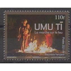Polynésie - 2021 - La marche sur le feu - Folklore