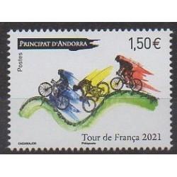 French Andorra - 2021 - Tour de France - Various sports