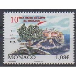 Monaco - 2021 - 10ème salon du livre - Littérature