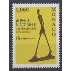 Monaco - 2021 - Alberto Giacometti - Art