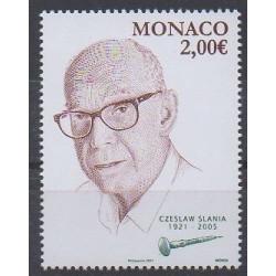 Monaco - 2021 - Czeslaw Slania - Philatélie