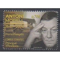 Andorre espagnol - 2021 - No 499 - Célébrités