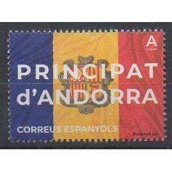 Andorre espagnol - 2021 - No 495 - Drapeaux